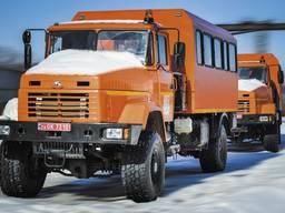 Вахтовый автобус ФПВ-14224 на базе шасси КрАЗ-5233НЕ