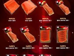 Вакуумирована рыбная продукция ТМ Дары Океану