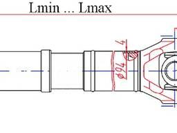 Вал карданный переднего моста 631705-2203010-10 - фото 2