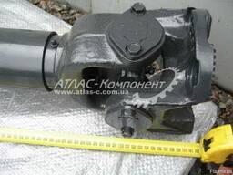 Вал карданный привода среднего моста L=1418мм фл. ISO КамАЗ - фото 2