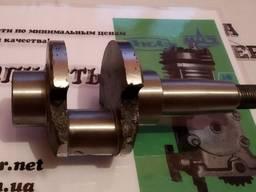 Вал коленчатый компрессора ПАЗ ЮМЗ 1-цил (привод под шкив)