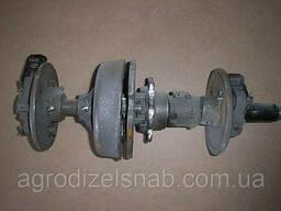 Вал с дисками СЗГ 00. 1270-16Т (автомат) под цепь 31. 75 СЗ