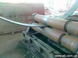 Вальцовка профильных труб