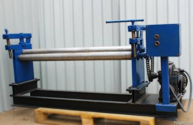 Вальцы БілЕко БВ-1300 трехвалковые электромеханические.