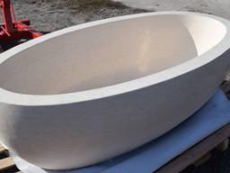 Ванна из натурального мрамора cream marble