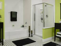 Ванная комната с душевой кабиной (сантехник, электрик, отдел