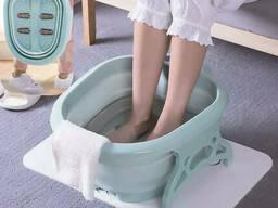 Ванночка массажер для ног Footbath Massager 00082, розовая