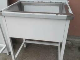 Ванны моечные, мойки, столы производственные, стеллажи - фото 1