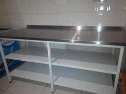 Ванны моечные, столы производственные, стеллажи, зонты