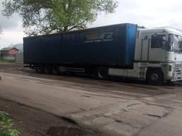 Вантажні перевезення по Україні та міжнародному сполученні