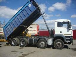 Вантажні перевезення самосвалом 30 тонн
