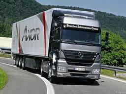 Вантажні перевезення та експедиція