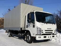 Вантажний автомобіль Isuzu NQR 90 борт-тент
