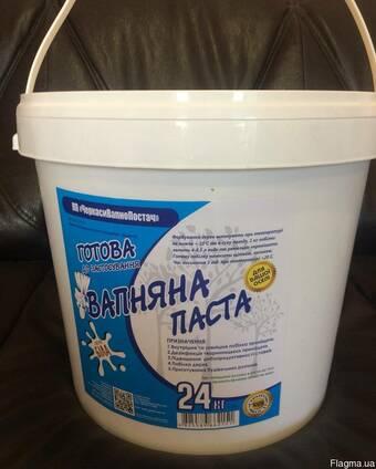 Вапняна паста Вищого гатунку у відрі-24 кг