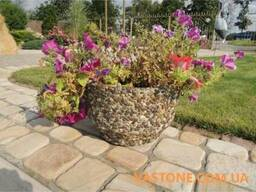 Вазоны уличные садовые, цветники бетонные, клумбы для цветов