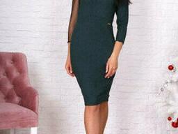 Вечернее коктельное женское платье (44-48) , доставка по. ..