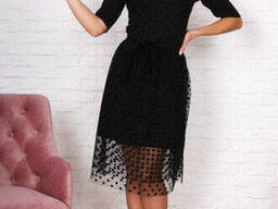 Вечернее женское платье из евросетки 42-46, доставка по. ..