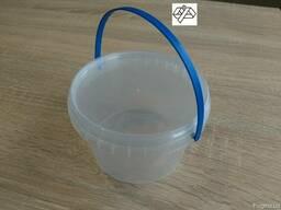 Ведро пластиковое 0, 5 л круглое