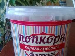 """Ведро пластиковое """"Карамелизированный фруктовый попкорн"""""""
