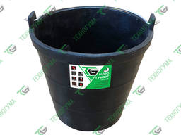 Ведро строительное резиновое 10 л