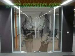 Векторное матирование стекла без пескоструя - фото 1