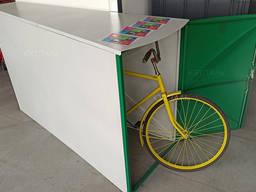 Вело гараж / вело бокс для хранения велосипеда, коляски, мопеда