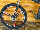 Велосипед горный на литых дисках - фото 3