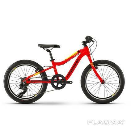 "Велосипед Haibike SEET Greedy 20"" красно-черно-желтый, 2020"