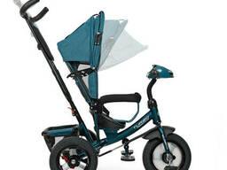 Велосипед M 3115HA-21L три кол. рез (12/10), коляс. USB/BT, свет, св. ход. ..
