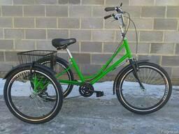 Велосипед трёхколёсный для взрослых реабелитационный