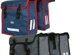 Велосипедная двухсекционная сумка-штаны 35л в 3 цветах из. ..