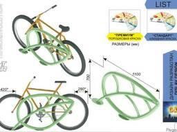 """Велосипедная парковка """"Лист"""""""