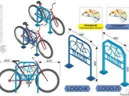 Велосипедная парковка LOGO-К