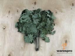 Веники для сауны и бани дубовые березовые