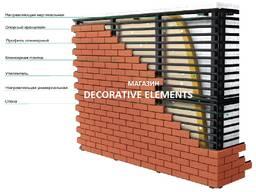 Вентфасады (вентилируемые фасады) маг. Decorative Elements