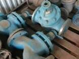 Вентиль 15нж40п Клапан запорный проходной Ду150 Ру40 нержаве - фото 1