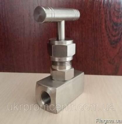 Вентиль игольчатый нержавеющий муфтовый AISI304, РУ400