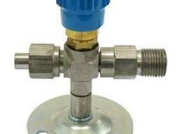Вентиль кислородный медицинский ВКм, клапан кислород к-1101