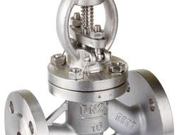 Вентиль стальной 15с27нж ду 40 ру 63 запорный сальниковый