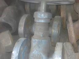 Вентиль запорный стальной фланцевый 15с57бк д15,25