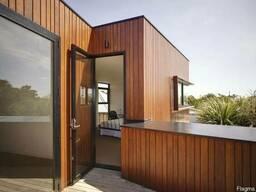 Вентилируемые фасады из дерева