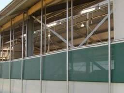 Вентиляционные шторы для коровников и доильных залов
