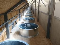 Системы вентиляционного оборудования для хранения овощей