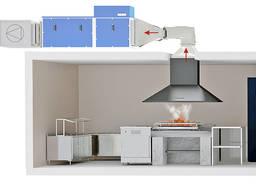 Вентиляція в Їдальні/ Кухні