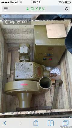 Вентилятор ЭРВ-600/300