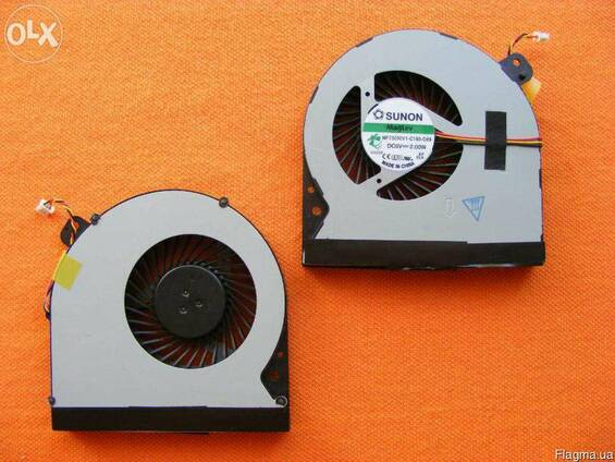 Вентилятор Кулер Asus K55DE K55N Q500A 3-pin новый