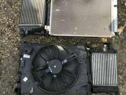 Вентилятор охлаждения двигателя диффузор Renault Clio