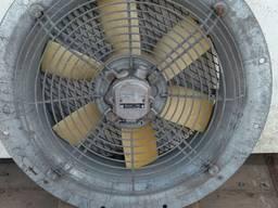 Вентилятор осьовий для витяжки з електрошкафів та ін. приміщ