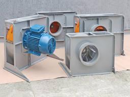 Вентилятор пылевой высокого давления №5 Аспирация Горлушко