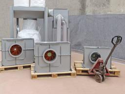 Вентиляторы пылевые радиальные высокого давления Горлушко